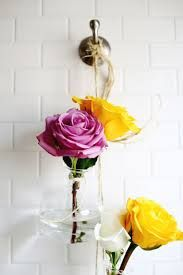 vases twine hang vertical - Google Search