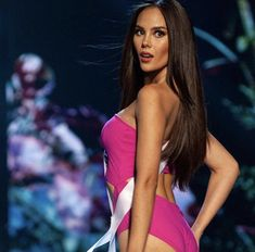 Miss universe 2018 is.Here are the women who get the opportunity to win the Miss Universe 2018 crown. Miss Universe Philippines, Miss Philippines, Miss Universe Swimsuit, Grey Swimsuit, Filipina Beauty, Celebrity Photography, Miss World, Victoria Secret Fashion, Beauty Pageant