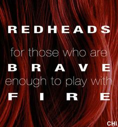 Red is my go to color Redhead Memes, Redhead Facts, Ginger Quotes, Ginger Humor, Ginger Facts, Red Hair Quotes, Red Hair Don't Care, Ginger Girls, Natural Redhead
