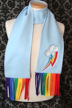 Rainbow Dash scarf :3