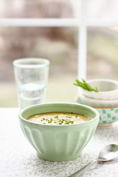 Potato Leek Soup-gluten and dairy free