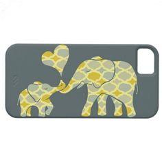 Elephant Hugs iPhone 5 Covers $43.95