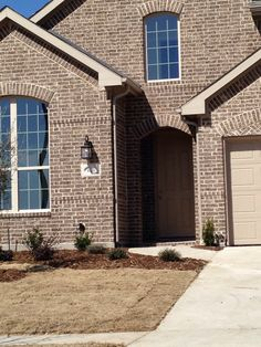 Auburn Hills Brick, with Buff Mortar, This house was the inspiration for our brick and mortar color