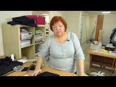 Выкройка жилетки Раскрой ткани Подкладка и подборт Часть 2 - YouTube