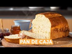 Cómo hacer pan de caja paso a paso | Kiwilimón - YouTube Bread, Youtube, Food, How To Make, Diy Box, Home Made, Step By Step, Cooking Recipes, Crates