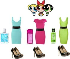 The Powerpuff Girls (The PowerPuff Girls) Inspired Outfits