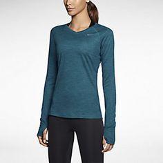 Nike Dri-FIT Wool V-Neck Women's Running Shirt. Nike Store