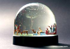 Des boules à neige insolites boule neige insolite 13