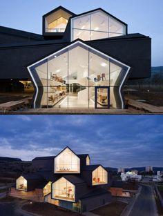 VitraHaus building by Herzog & de Meuron | Photography by Iwan Baan