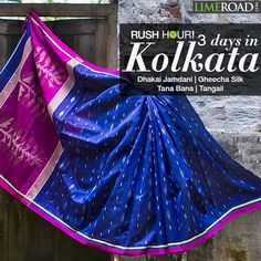 LimeRoad handpicks some beautifully exclusive sarees from the heart of Kolkata. You can be a part of this epic exploration to flavour your festivities. Click here to find the stellar drapes that strike a chord with you! http://limeroad.me/1r0AmZ7