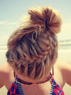 Beach Braids Picture i absolutely love this hair style so pretty perfect for the Beach Braids. Here is Beach Braids Picture for you. Beach Braids fifty shades fashion trendy hair braids for the beach. Pretty Braided Hairstyles, My Hairstyle, Hairstyle Ideas, Perfect Hairstyle, Makeup Hairstyle, Wedding Hairstyles, French Hairstyles, Latest Hairstyles, Wedding Updo