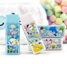 Mamegoma Playtime Scented Erasers