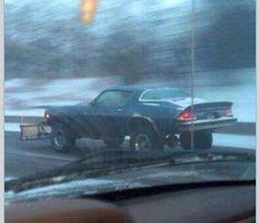Snow plow Camaro, if it makes money, good job!!