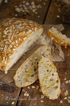 Az élet napos oldala: Dagasztás nélküli kenyér így, meg úgy Food And Drink, Baking, Healthy, Recipes, Breads, Rolls, Party, Brot, Bread Rolls