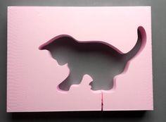 Deko-Objekte - Giessform Beton -Katzenwelpe/ Kitten- - ein Designerstück von BIF-Hermes bei DaWanda