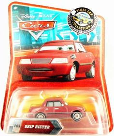Disney / Pixar CARS Exclusive 1:55 Die Cast Car Final Lap Series Skip Ricter by Mattel. $6.97. exclusive final lap disney car. disney cars skip ricter final lap