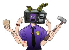 Echo-Purple Guy by Tigress-Cherry-Tea