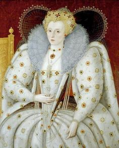 Queen Elizabeth I (1533–1603)  by Marcus Gheeraerts the younger