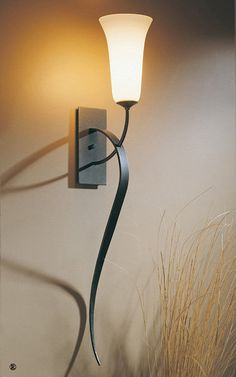 Buy the Hubbardton Forge Black Direct. Shop for the Hubbardton Forge Black Sweeping Taper Single Light Tall Wall Sconce with Customizable Glass Shade and save. Wall Sconce Lighting, Wall Sconces, Pendant Lighting, Bathroom Lighting, One Light, Open Plan, Glass Shades, Modern Contemporary, Floor Lamp