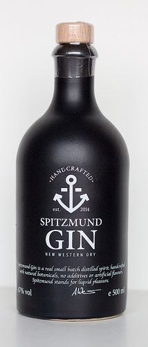 Spitzmund New Western Dry Gin #packaging