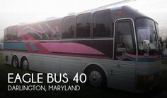 Bus Conversion For Sale, Used Bus, Rv For Sale, Rv Camping, Maryland, Conversation, Eagle, Dads, Gothic