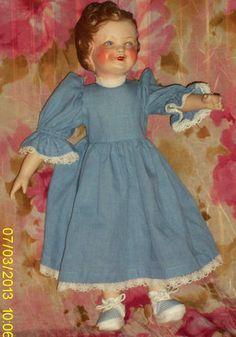 ancienne poupée Gégé Lisette de 1946 hybride doll vintage tête en terre de pipe Antique Dolls, Photos, Pictures, 1940s, Summer Dresses, Disney Princess, Retro, Disney Characters, Magazines