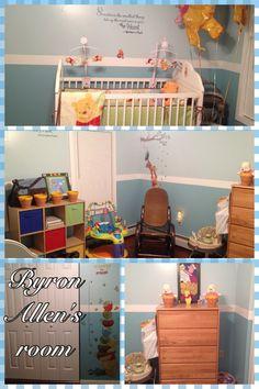 Winnie the Pooh baby nursery