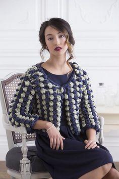 Ravelry: Maestranza Jacket pattern by Alex Capshaw-Taylor