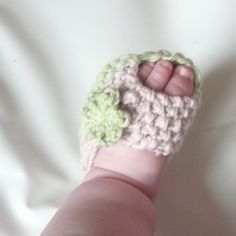 Knitting PATTERN BABY Booties Baby Peeptoe Sandals by ceradka