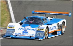 1988 Calsonic Nissan Group C Silverstone Classic 2009