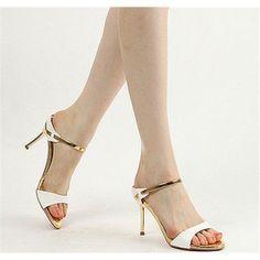 ウエディングシューズ サンダル 夏 美脚 レディース ハイヒール 花嫁 結婚式 二次会 靴 大きいサイズ オープントゥ ラインストーン