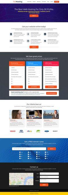 Web Hosting Website