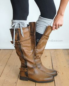 Grace and Lace - Jersey Tie Boot Cuff, $22.00 (http://www.graceandlace.com/new-releases/jersey-tie-boot-cuff/)