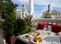 HOTEL PRINCIPAL MADRID - Rooftop pictures