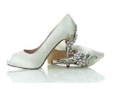 sapatos chiques - Salto decorado para casamento. Pesquisa Google