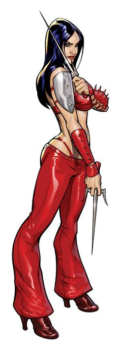 Elektra Color by TerryDodson.deviantart.com on @deviantART