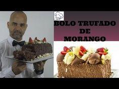 (100) Bolo Trufado de Morango - Receita de Doceria - Original - YouTube