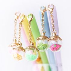 Buy Class 302 0.5mm Pen with Ball Charm at YesStyle.com! Quality products at remarkable prices. FREE WORLDWIDE SHIPPING on orders over US$35.