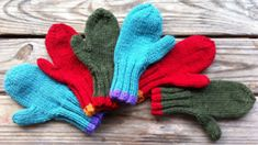 I have made scarfs, hats, afghans, sweaters, etc.  This pattern was a great one for my first attempt at mittens,