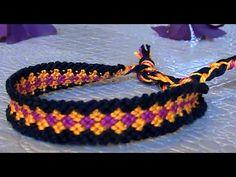 Bracelet Brésilien Mosaique (intermédiaire) - YouTube