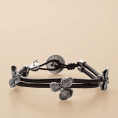 FOSSIL® Jewelry Bracelets:Women Flower Wrist Wrap JA5110