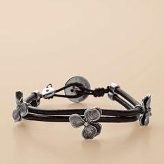 FOSSIL® Jewelry Bracelets:Women Flower Wrist Wrap JA5110
