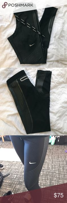 Nike Power Speed Tights in Black Nike Power Speed Tights in Black, originally going for $175 - worn but great condition! Size small, running tight. Nike Other