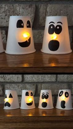 ☞ Best and Easy Halloween Crafts For Kids - Regardless of whether it's a school Halloween craft or a local children Halloween party, kids love making their own Halloween treats. Here are 46 easy ideas for custom made crafts for the children to make this year for Halloween! #Halloween_Crafts_For_Kids #DIY_Halloween_Crafts_Ideas #Easy_Halloween_Crafts