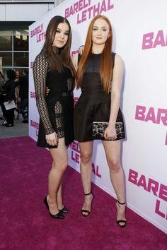 Hailee Steinfeld & Sophie Turner