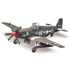 "Aircraft Aero Military Model 1/72 P-51B ""Mustang"" Royal Air Force #12464"
