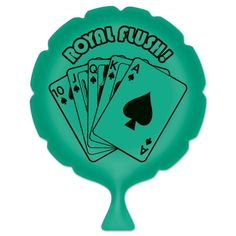 "Shop for Pack of 6 Green ""Royal Flush!"" Whoopee Cushion Casino Night Party Favors Get free delivery On EVERYTHING* Overstock - Your Online Kitchen & Dining Store! Casino Party Games, Casino Night Party, Casino Theme Parties, Party Themes, Casino Costumes, Pet Treats, Poker Chips, Dog Snacks, Have Some Fun"