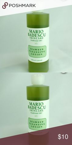 🍂🍂Seaweed Cleansing Lotion 🍁🍁 Brand new Seaweed Cleansing Lotion , Toner that softens , tones and rejuvenates . Mario Badescu Makeup
