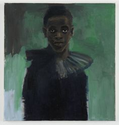Lynette Yiadom-Boakye  A Passion Like No Other, 2012  oil on canvas  31 1/2 x 29 5/8 inches  33 1/4 x 31 3/8 x 2 1/4 inches framed