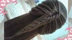 Peinados que facilitará su vida diaria FACILES Y RAPIDOS Y BONITOS CON T...
